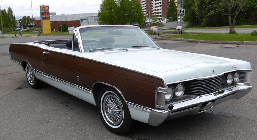 1968 Mercury convertible