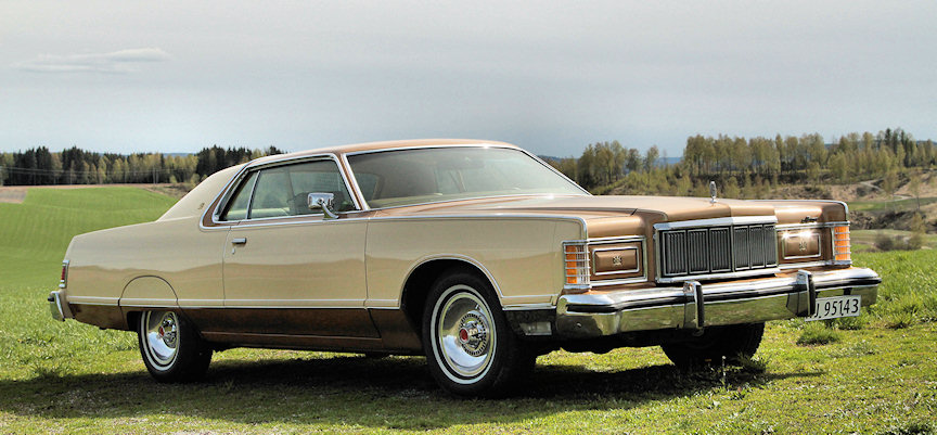 1978 Mercury Grand Marquis coupe 2d ht