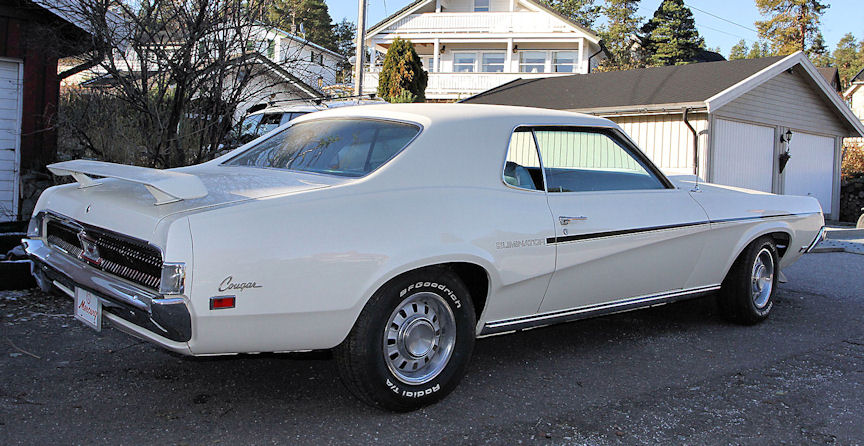 1969 Mercury Cougar ELiminator 351